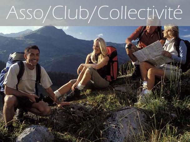 Vacances entre membre d'une association, d'un club, d'une collectivité