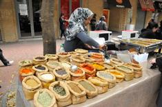 Marché d'épices au Cap