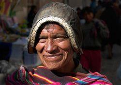Portrait d'un bolivien