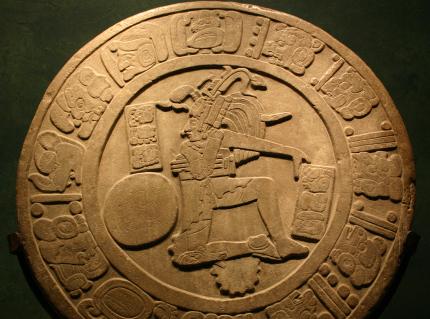 Pièce d'or Maya