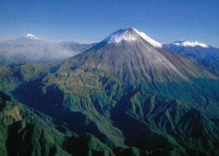 Andean volcanoes