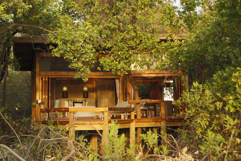 Lodge au Botswana