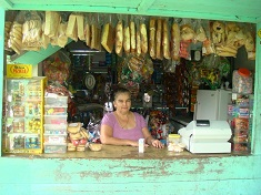 Soda kiosk in Costa Rica