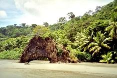 Drake Bay beach in Costa Rica