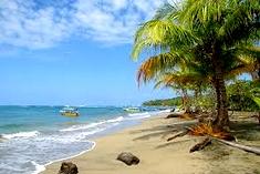 Manzanillo Beach at Costa Rica