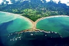 Pacific coast. Uvita Beach