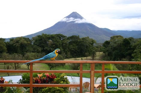 Arenal Lodge View