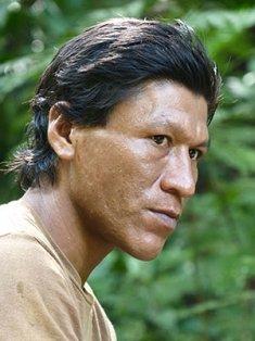 Bribri man. Costa Rica indigenous people