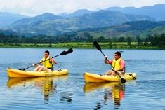 Kayaking on Tortuguero