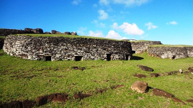 Ancien village Orongo