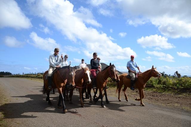 Balade à cheval sur l'Ile de Pâques