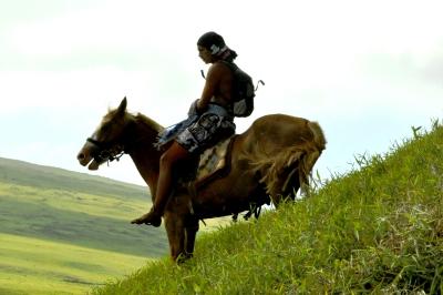 Festival Tapati à cheval