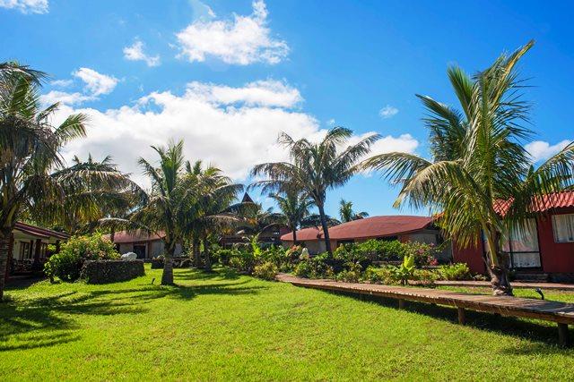 Hôtel Vai Moana jardin