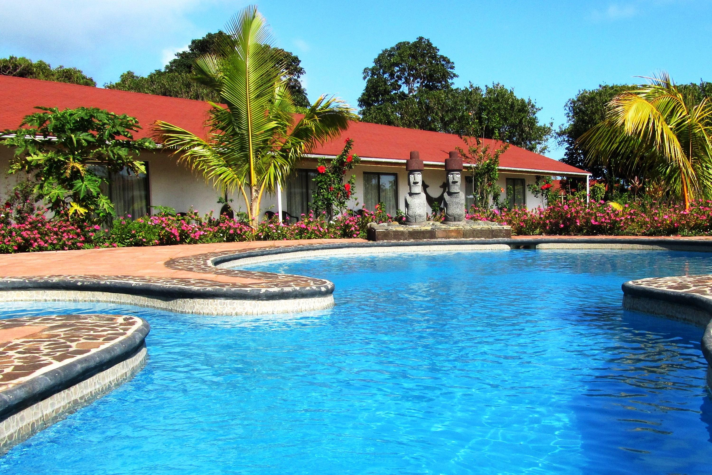 Hôtel Puku Vai piscine