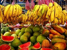 Marché au Costa Rica