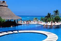 Hôtel au Mexique