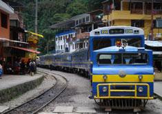 Voyage en train au Pérou
