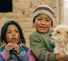 Enfants du nord argentine