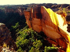 Panorama du Kings Canyon
