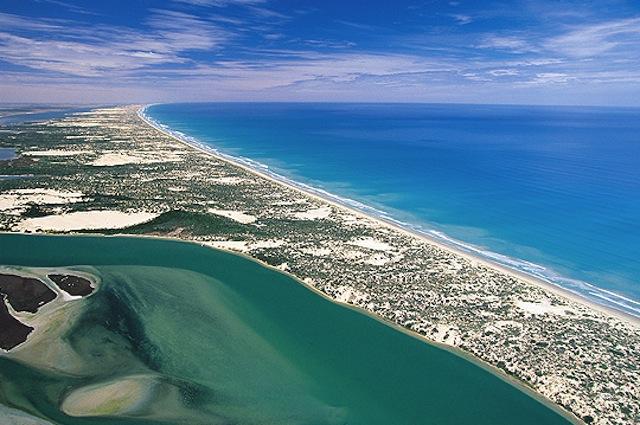 Côte de Limestone en Australie du Sud