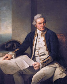 Le Capitaine James Cook