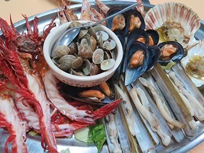 Spain seafood