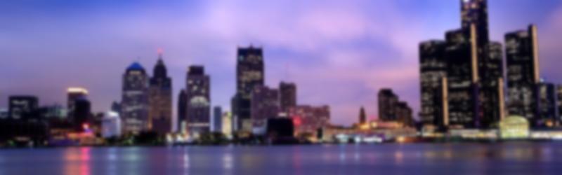 Detroit skyline hi