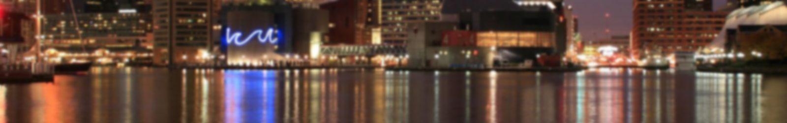 Baltimore skyline maryland