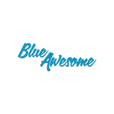 Blue awesome