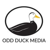 Odd duck logo square white