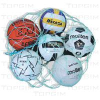 Saco de rede para transporte de bolas em fio de polietileno de 3,0mm