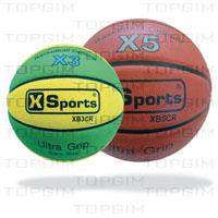Bola de Basquetebol XSports Borracha Celular