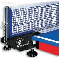 Suportes e rede de ténis de mesa