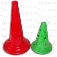 Cone de Sinalização em PVC denso - Luxo