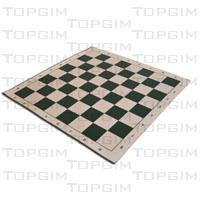 Tabuleiro para xadrez em vinil com 44x44cm