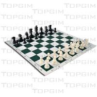 Peças para xadrez em PVC