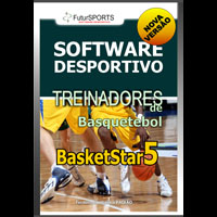 Basketstar 5 - software para treinadores de basquetebol.
