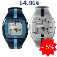 Monitor de frequência cardíaca Polar FT4M