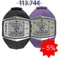 Monitor de frequência cardíaca Polar FT60F