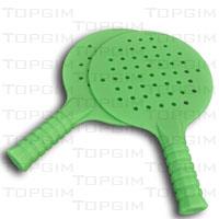 Raquete de ténis de mesa em PVC