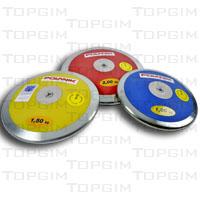 Disco de atletismo em aço e plástico ABS Polanik para competição do lançamentodo Disco