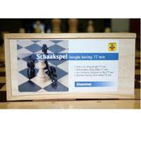Peças para xadrez em madeira
