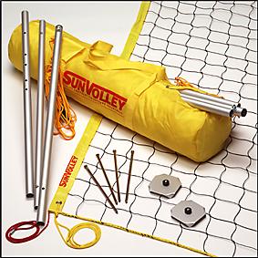 Kit de Voleibol Praia Sunvolley LC Lazer