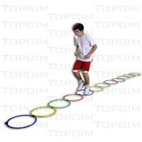 Escada de agilidade e velocidade com 11 arcos
