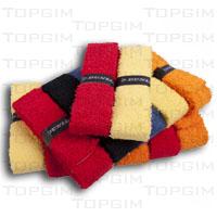 Grip Dunlop, tipo toalha, para raquete de badminton