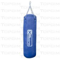 Saco de boxe com 17,5kg - 80x30cm