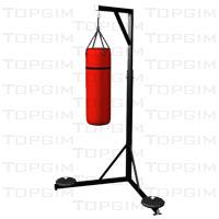 Suporte de chão para saco de boxe