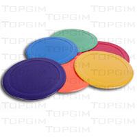 Conjunto de 6 discos coloridos