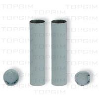 Manga em alumínio para poste de 120mm
