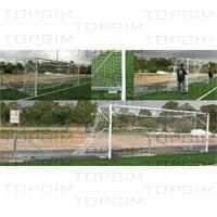 Baliza de Futebol 7 rebatível lateralmente